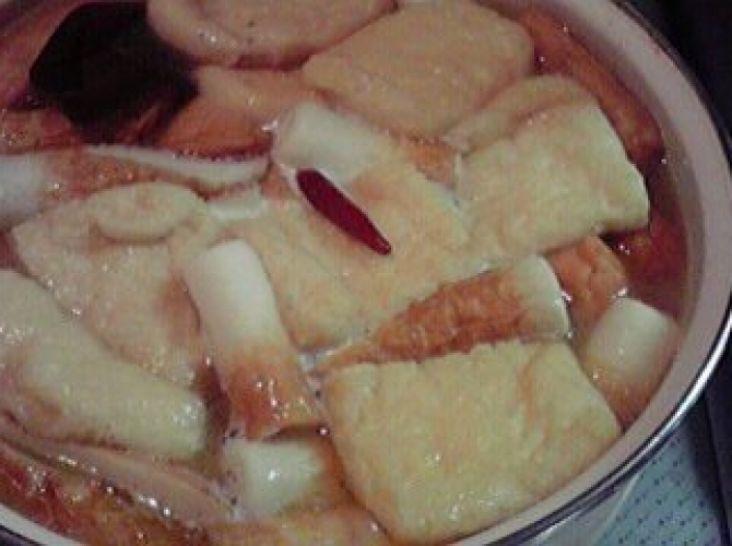 味噌煮込みおでん風鍋