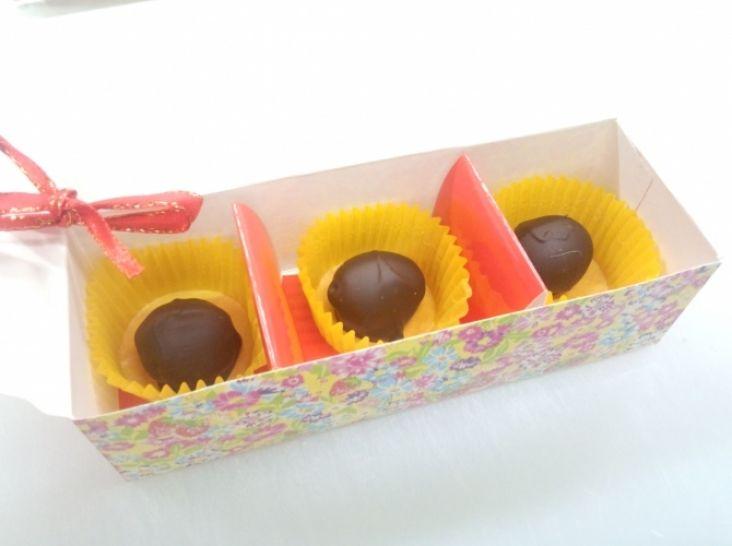 黒オリーブチョコレート