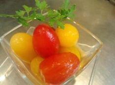 真夏のチェリートマト 簡単ピクルス