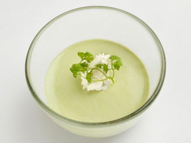 緑茶のパンナコッタ