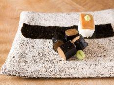 かんぴょう巻きと一口手巻き寿司