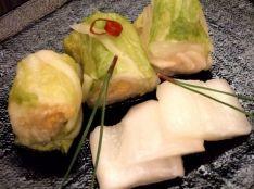 白菜の香味漬け