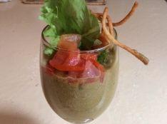 トマトたっぷり夏野菜のスムージー風