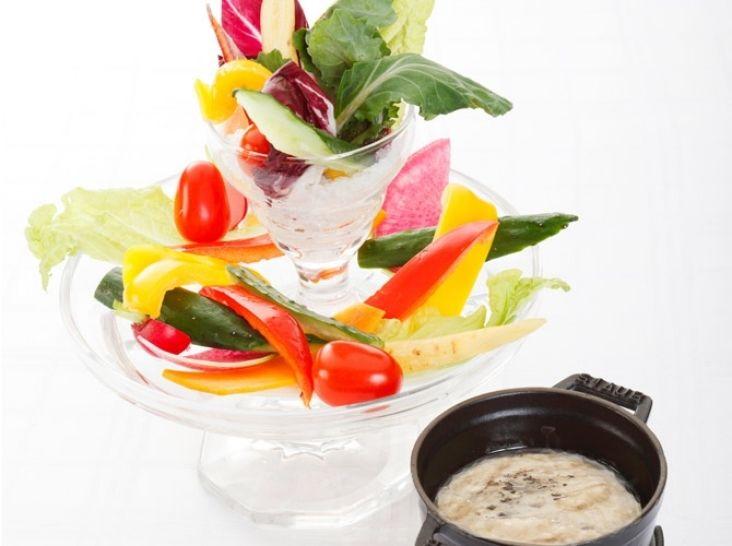 野菜ソムリエ直伝「塩麹のバーニャカウダー」