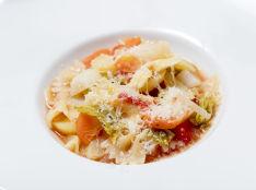 いろいろ野菜の鍋パスタ