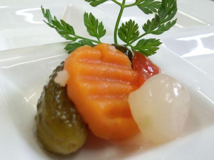 いろいろ野菜の和風ピクルス