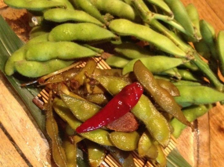 枝豆の煮付け