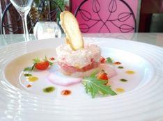 10分で豪華な冷菜!ホタテと甘海老と蟹のタルタル