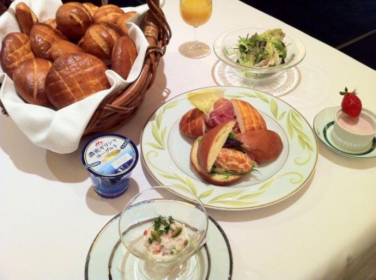 パルテノパンで、ゆったりとした素敵な朝食を