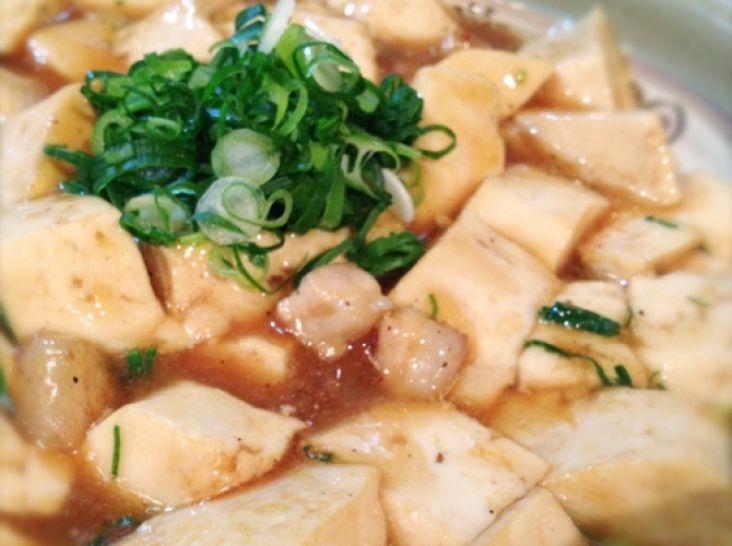 山椒たっぷり、本格麻婆豆腐