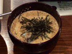 炙り秋刀魚de冷汁