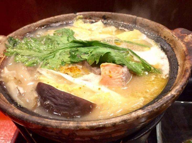 石狩鍋 雑炊&リゾット