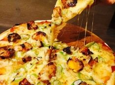 美唄やきとりピザ