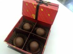 甘栗のチョコレートがけ