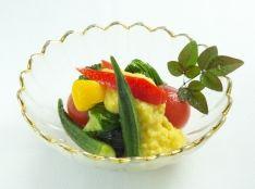 夏野菜の冷やし鉢