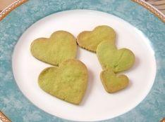 型抜きクッキー(抹茶味)