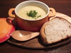 ヨーグルトでポタージュスープ!