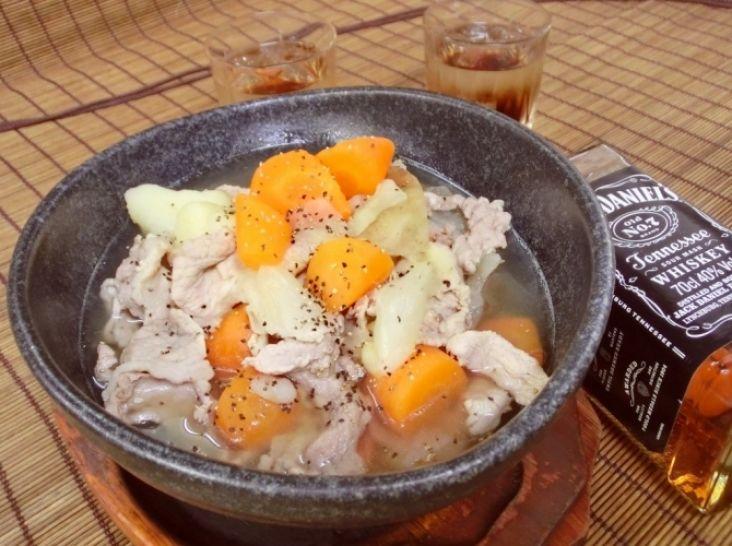 山男スープ