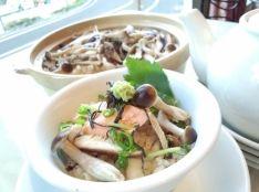キノコと秋鮭のひつまぶし風 ~驚きの調理法!15分炊き~