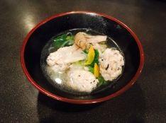 便秘予防に!ひじきと鶏のレンコン入り団子スープ