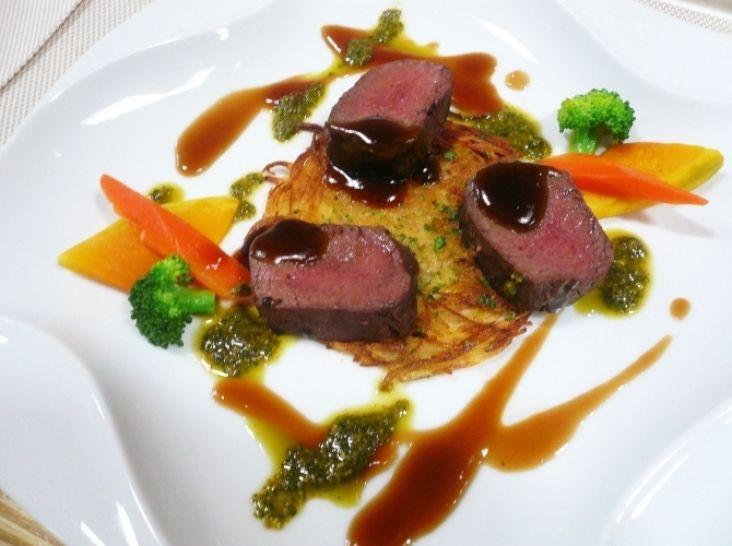 【エゾシカ】エゾシカ肉のロースト<Roti de deer>