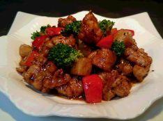 鶏肉と長芋の辛味豆鼓炒め