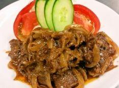 【エゾシカ】エゾシカモモ肉の中華風しょうが焼き