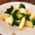 じゃがバタ炒めとゆでブロッコリーの温活サラダ