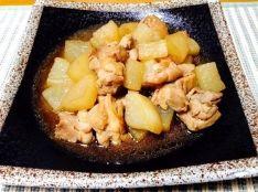 鶏肉と大根の甘酒醤油煮