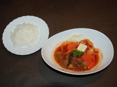 冬野菜とベーコンのカポナータ