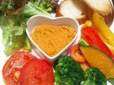 焼き野菜と鶏ソースの美味しい気分♪