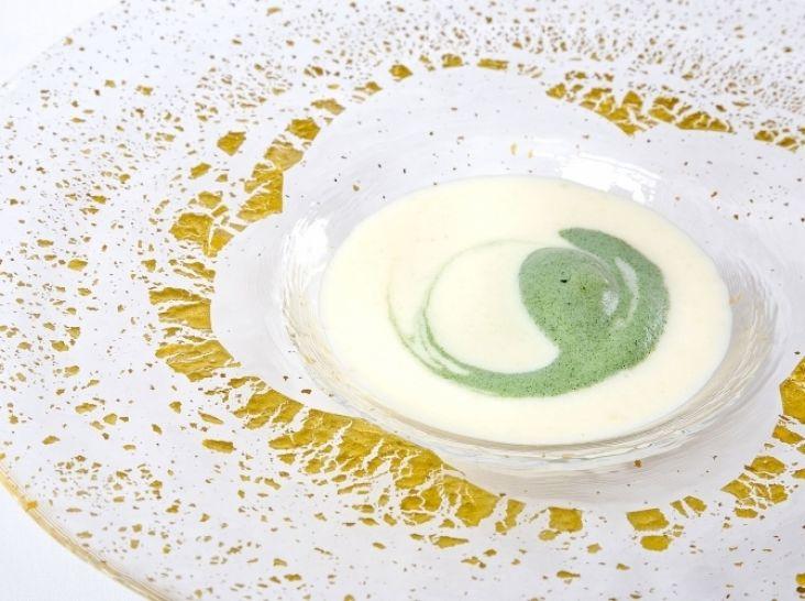 ビシソワーズ(じゃがいもの冷製スープ)
