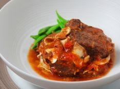 黒毛和牛の煮込み マッシュルーム風味