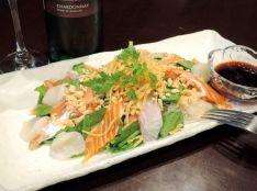 混ぜて食べる海鮮パリパリサラダ