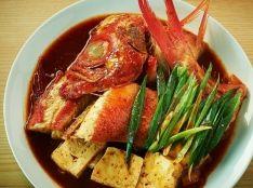韓国式 お魚煮付け