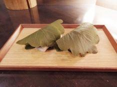 白玉粉で作る簡単柏餅