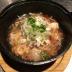 梅干しと鶏肉&鶏もつの塩煮込み