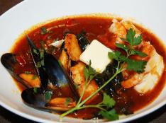 「ヴェネツィア風・贅沢な海の幸のお雑煮」