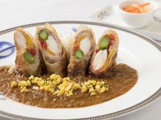 豚バラ肉と野菜のクリスピーカレー