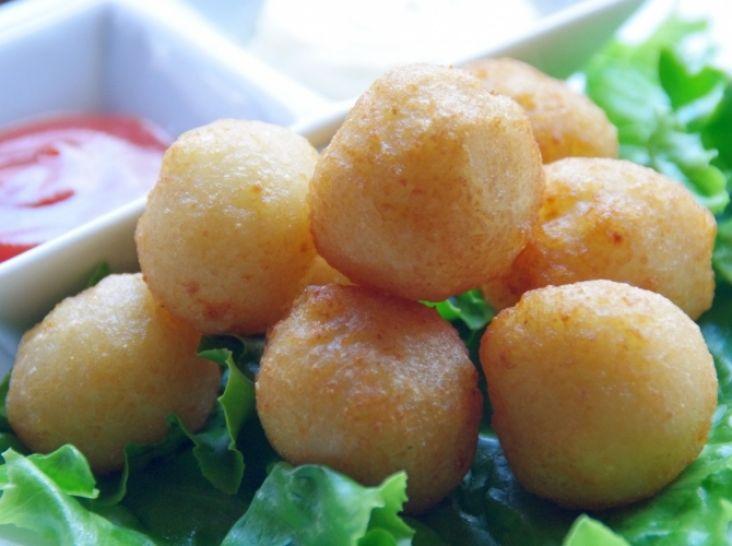 ☆サクッ&モチッ☆ パルメザンチーズ香る!ミニポテト揚げ