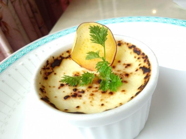 さつま芋のブリュレ