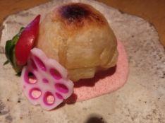 新じゃがパイ包み焼き、ギリシャヨーグルトの明太サワークリーム
