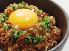 肉味噌とお豆腐の尼飯