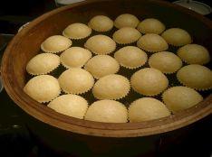 馬拉糕(マーラーカオ・中国風の蒸しカステラ)