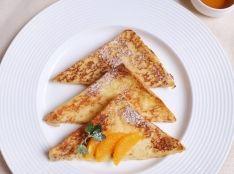 オレンジ風味のパンペルデュ(フレンチトースト)