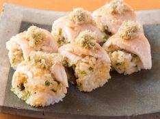 柔らかささみのロール寿司
