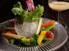 野菜たっぷりのパルテノを使ったクリーミーバーニャカウダ