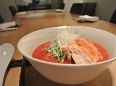 トマトジュースでトロリまかないトマト麺