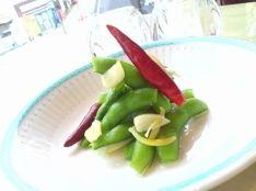 枝豆アーリオ ピリ辛ガーリック風味