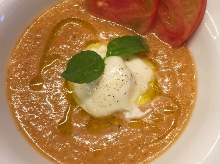 ガスパチョ フレッシュトマトと夏野菜の冷製スープ